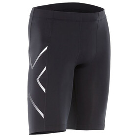 2XU TR2 Compression Shorts Herre black/silver